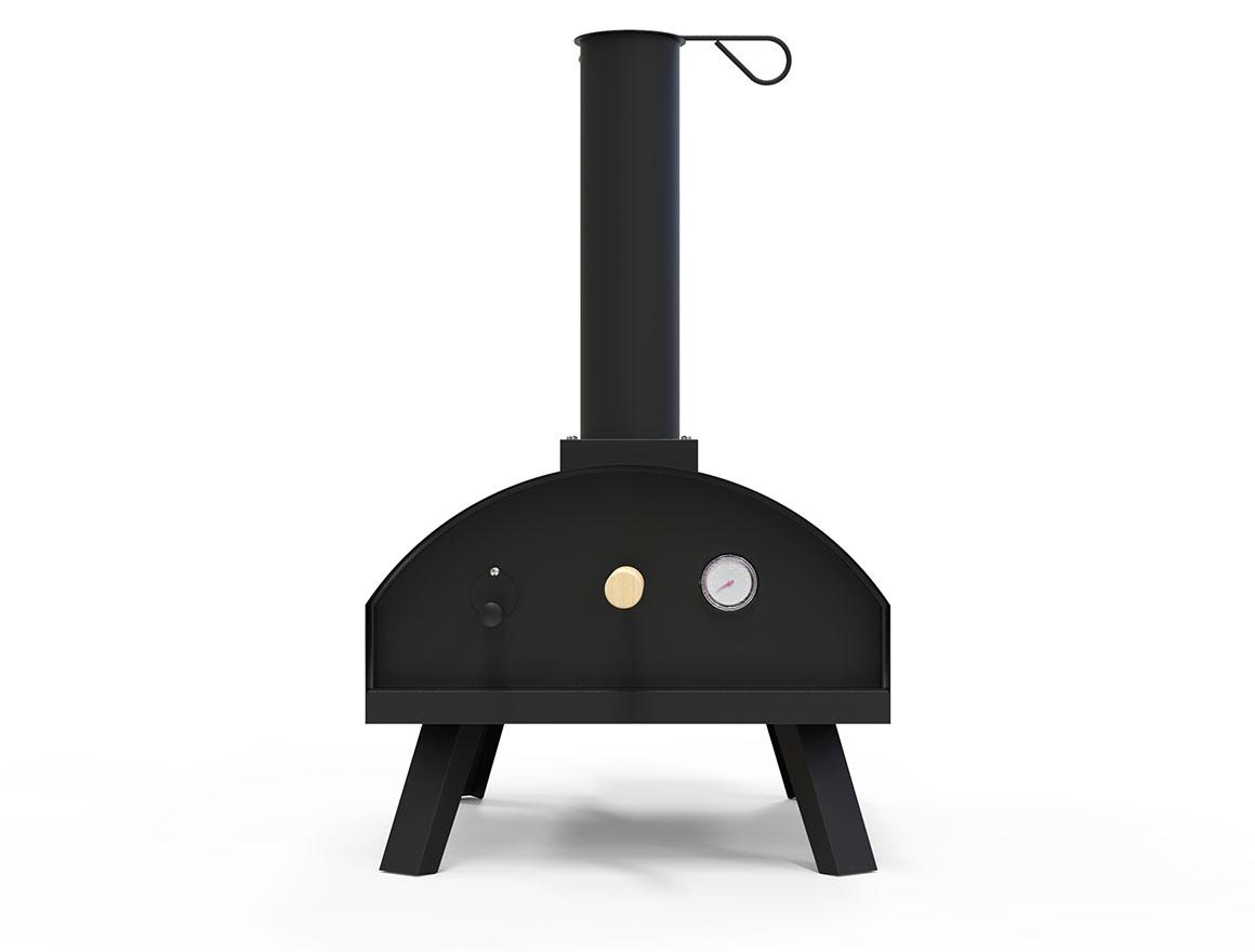 Pizzabboks vedfyrt pizzaovn liten pizzaovn fra gruve